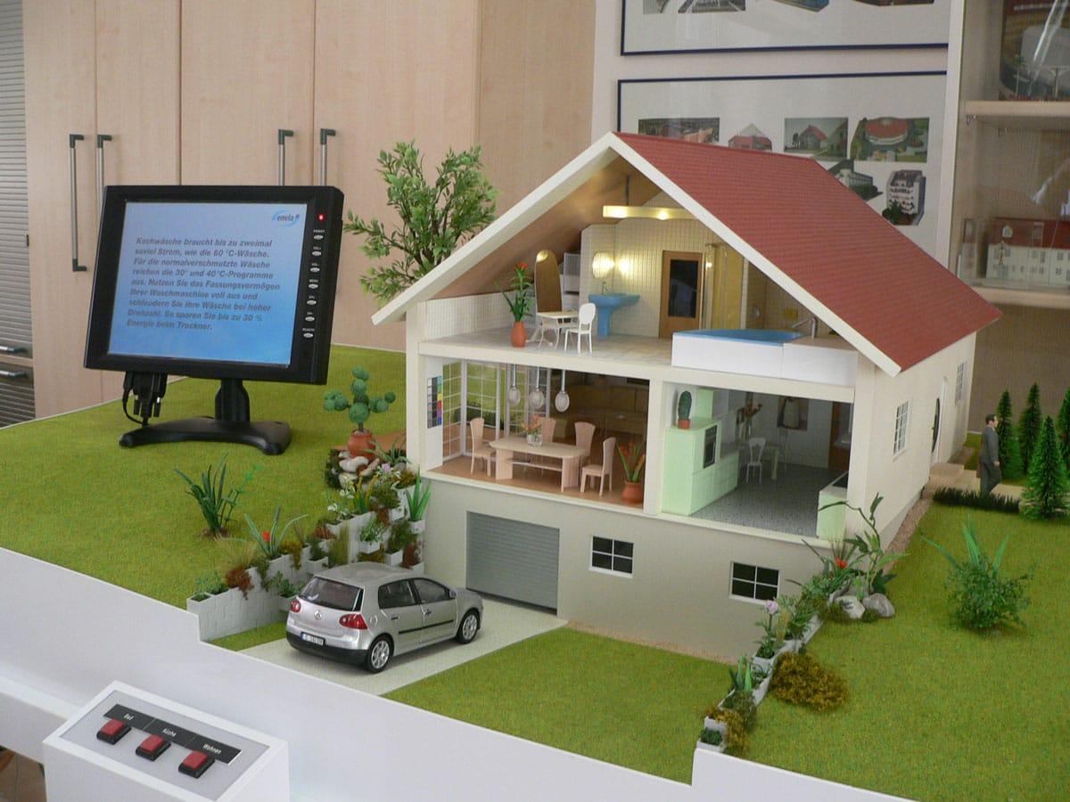 Referenzen aus dem bereich architekturmodell for Modellhaus bauen